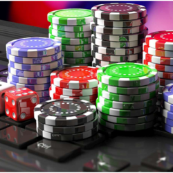 What is the disadvantage of playing online casino games?